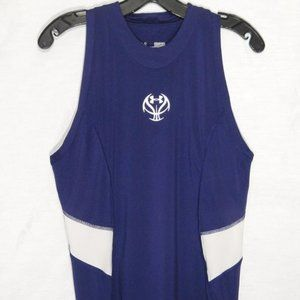 Under Armour Fitted heat gear sleeveless Purple M